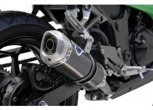 K074094CV - Exhaust Muffler Termignoni RELEVANCE Carbon KAWASAKI NINJA 300R
