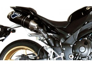 Y092094CO - Full Exhaust Termignoni OVAL Carbon YAMAHA R1 (09-11)