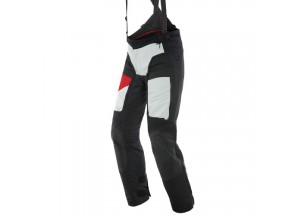 Motorbike Pants Man Dainese Gore-Tex D-Explorer 2 Black Gray Lava-Red