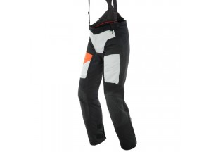 Motorbike Pants Man Dainese Gore-Tex D-Explorer 2 Black Gray Orange