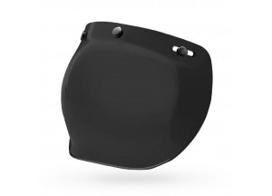 7018134 - Visor Bell Custom 500 PS 3-Snap Bubble Dark Smoke