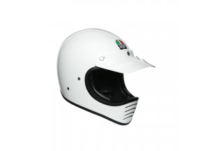 Full-face Helmet Off Road Agv X101 Glossy White