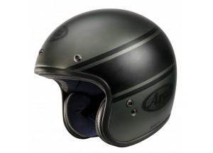 Helmet Jet Arai Freeway Classic Bandage Green