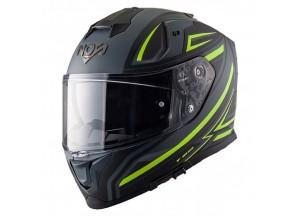 Helmet Full-Face Nos NS10 Fastback Fluo Yellow Matt
