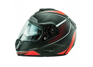 Helmet Full-Face Nos NS6 Typhoon Matt Red