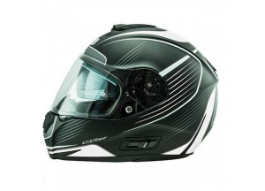 Helmet Full-Face Nos NS6 Typhoon Matt White