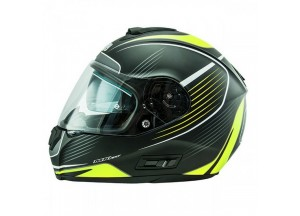 Helmet Full-Face Nos NS6 Typhoon Matt Yellow