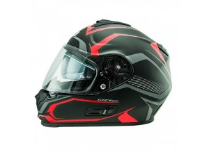 Helmet Full-Face Nos NS7F Douglas Matt Red