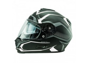 Helmet Full-Face Nos NS7F Douglas Matt White