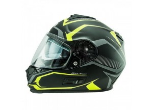 Helmet Full-Face Nos NS7F Douglas Matt Yellow
