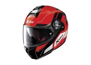 Helmet Flip-Up Full-Face X-Lite X-1004 Charismatic 26 Corsa Red
