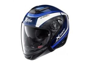 Helmet Crossover X-Lite X-403 GT Ultra Carbon Meridian 7 Tinto Blue
