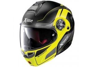 Helmet Flip-Up Full-Face X-Lite X-1004 Charismatic 29 Matt Black Yellow