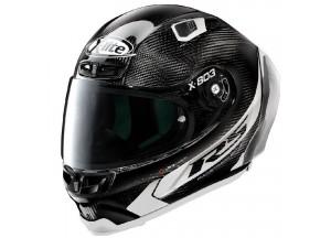 Helmet Full-Face X-Lite X-803 RS Ultra Carbon HOT LAP 14 Black White