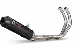 Y.044.L3C - Full Exhaust Mivv SPORT OVAL CARBONIO YAMAHA MT-07 14-