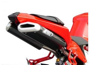 ZB081SKR - Full Exhaust Zard Penta SS/Carbon Bimota DB 5 (07-12)