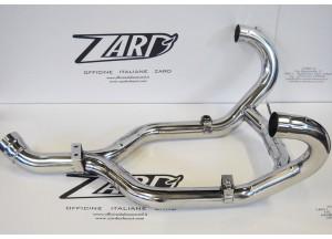 ZBMW080SCR-C - Exhaust Manifolds Zard Polished SS BMW R 1200 GS (04-09)