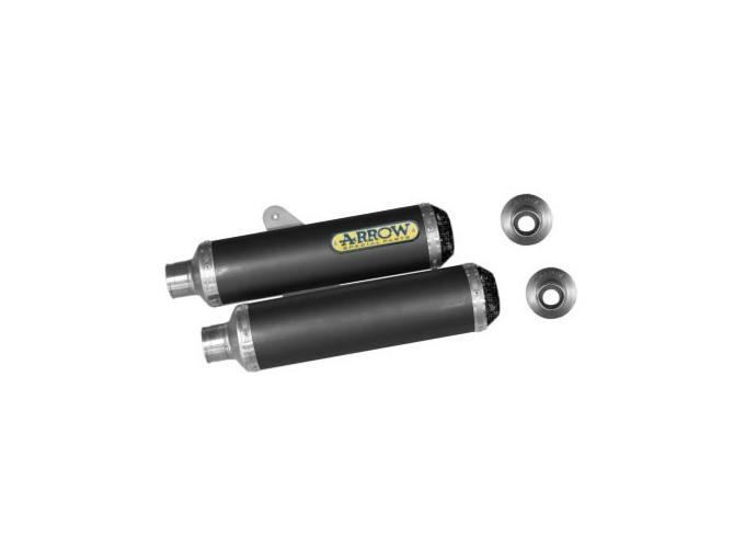 71062DK - SILENCIEUX ECHAPPEMENT ARROW CARBONE DUCATI MONSTER S4R/S2R 800/1000