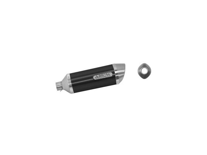 51501AON - SILENCIEUX ARROW ALUMINIUM THUNDER HONDA CBR 125 R 04-07 APPROVED