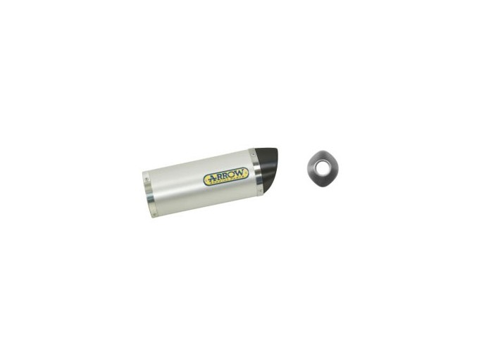 51502AK - SILENCIEUX ECHAPPEMENT ARROW ALUM/CARBONE HONDA CBR 125 R '04-07