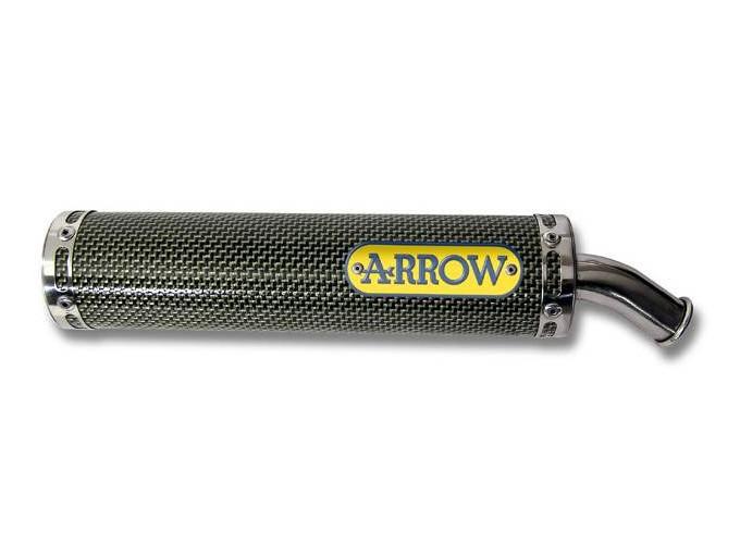 51598SU - Silencieux Arrow Street 2T made with Kevlar Cagiva Mito 125 (94-06)