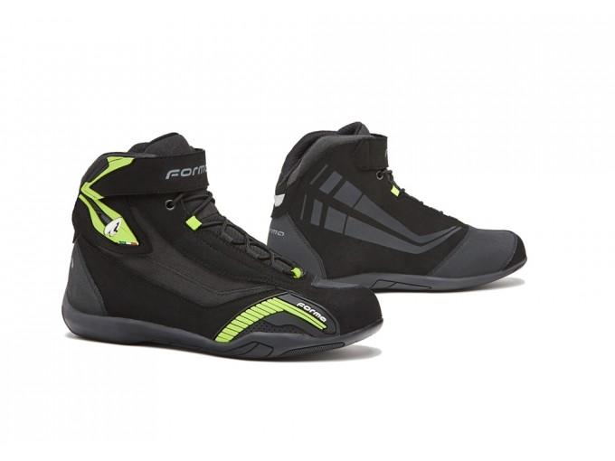 Jaune Genesis Fluo Cuir Chaussures En Noir Forma Imperméable FJTKl1c