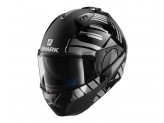 Casque Modulaire Ouvrable Discovery Shark EVO-ONE 2 LITHION DUAL Noir Chrom