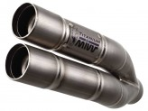H.038.LDG - Silencieux Echappement Mivv Double Gun Honda CB 600 Hornet CBR 600 F
