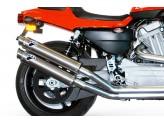HD03080CR - Silencieux Echappement Termignoni ROUND Carbone H-D XR 1200 R (-)