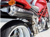 ZD024LSR-2 - Silencieux Échappement Zard HM Titane Ducati Monster S2R