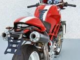 ZD028LSR-2 - Silencieux Échappement Zard HM Titane Ducati Monster Testastretta