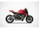 ZD125TKR - Échappement complet Zard  Titane  Ducati Monster 1200 S (16)