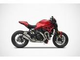 ZD126TKR - Échappement complet Zard Titane Ducati Monster 1200 R(16-19) S(17-19)