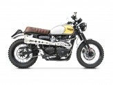 ZTPH048SKA - Échappement complet Zard HM Short Inox Triumph Scrambler (05-16)