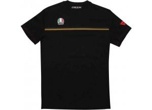 T-Shirt AGV FAST-7 Noir Or