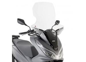 1163DT - Givi Pare-brise spécifique transparent 85 x 63 cm Honda PCX 125 18>19