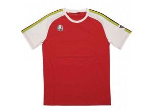 T-Shirt AGV AGO-1 Blanc Rouge