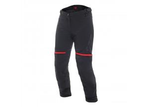 Pantalons Dainese Carve Master 2 Lady Goretex imperméable Noir/Rouge