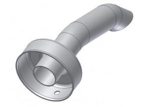 50.DK.021.0 - Mivv db killer d25 - d61 - L.140 mm (Gp - Oval - X-Cone LC3 )