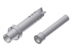 50.DK.026.0 - Mivv dB-killer SUONO 9 trous d22 - d54 - L.210 mm - avec coaxial