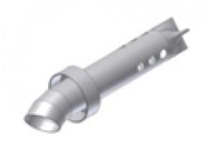 50.DK.039.0 - Mivv dB-killer SUONO d35 - d54- L.200 mm - 9 trous