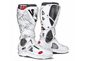 Bottes Moto Off-Road Crossfire 3 SRS Blanc Blanc