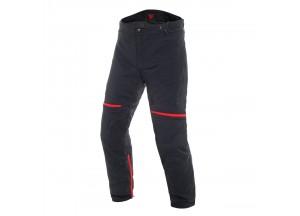 Pantalons Dainese Carve Master 2 Goretex imperméable Noir/Rouge
