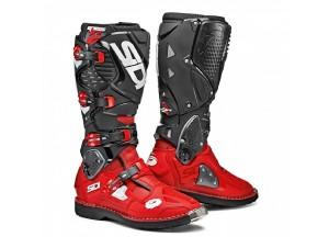 Bottes Moto Off-Road Crossfire 3 Rouge Noir