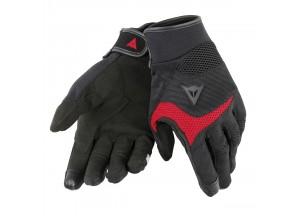 Gants Moto Dainese Desert Poon D1 Unisex Noir/Rouge