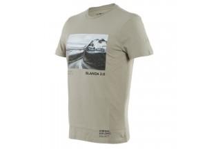 T-Shirt Adventure Dream Dainese Goat/Noir