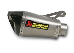 S-B10SO1-HASZ - Silencieux Echappement Akrapovic Slip-on Tit BMW S 1000 RR 10-13