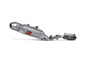 S-H2MR8-QTA - Complet Echappement Akrapovic Racing Line Honda CRF 250 R 14