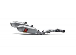 S-H4MR15-QTA - Echappement Akrapovic Racing Line Inox/Titanio Honda CRF450R
