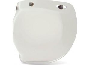 Visière Bell Custom 500 3-Snap Bulle Transparente